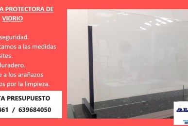mampara-vidrio